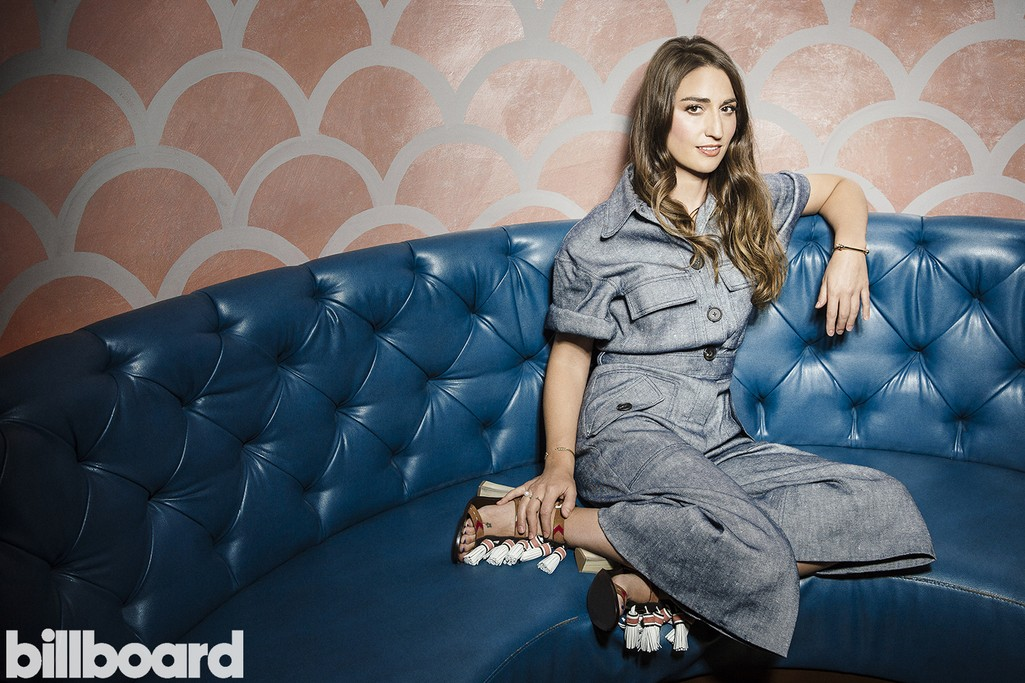 Sara Bareilles photographed at Sid Gold's Request Room in New York on Oct. 30, 2015.