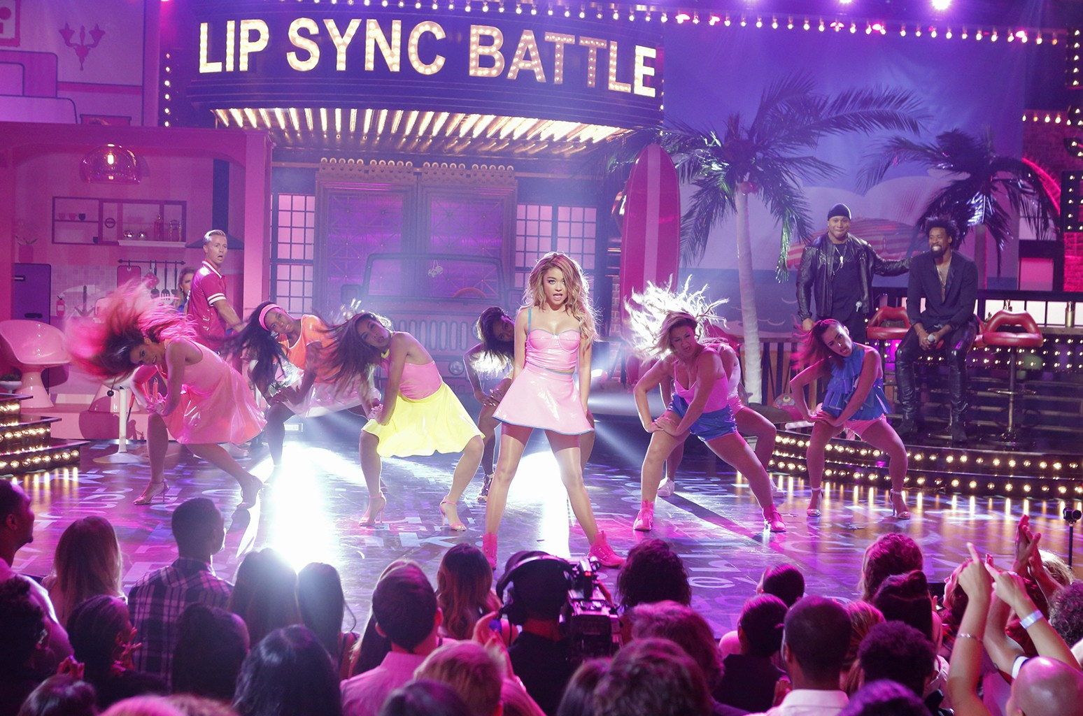 Sarah Hyland on Lip Sync Battle.