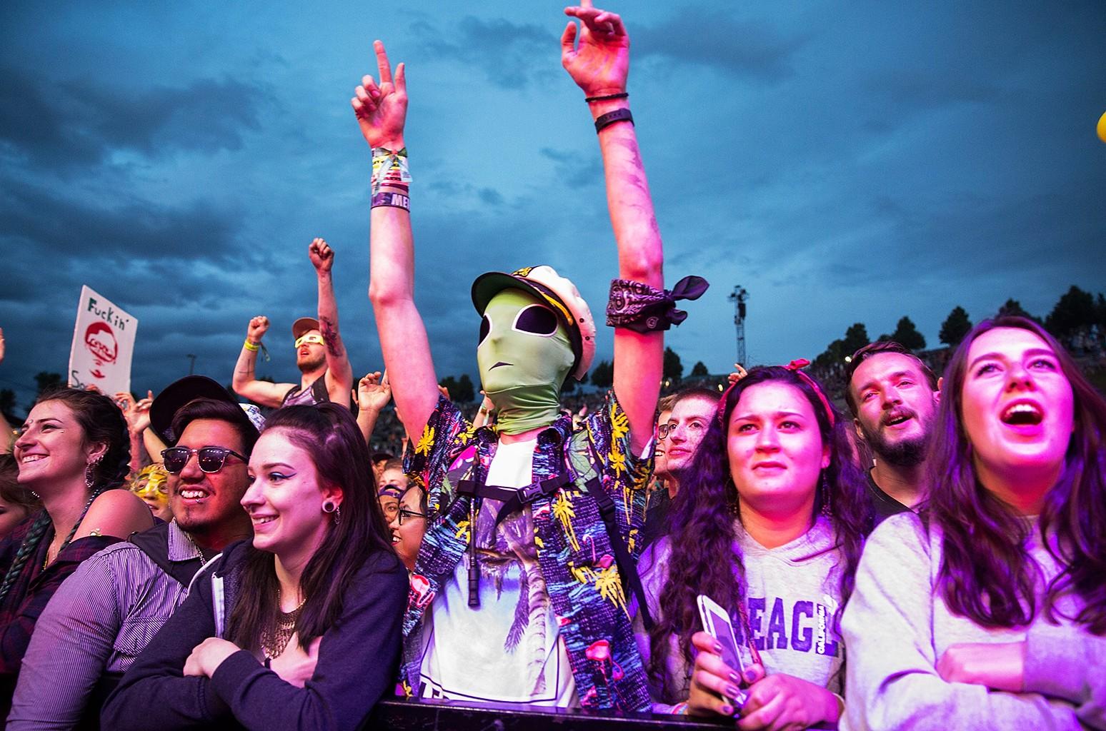 Fans enjoy Sasquatch Music Festival 2016