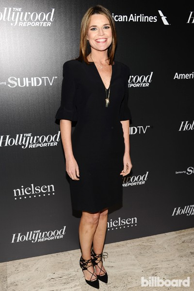 Savannah Guthrie attends The 35 Most Powerful People in Media hosted by The Hollywood Reporter