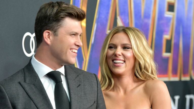 Scarlett Johansson And Colin Jost Are Married Billboard
