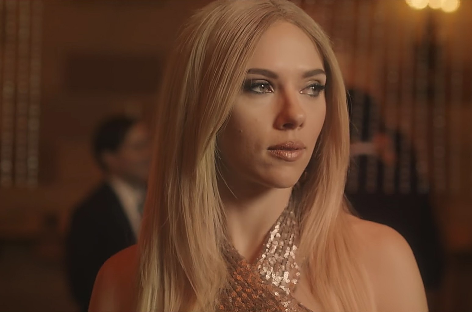 "Scarlett Johansson as Ivanka Trump in ""Complicit"" Fragrance skit on 'Saturday Night Live' on March 11, 2017."