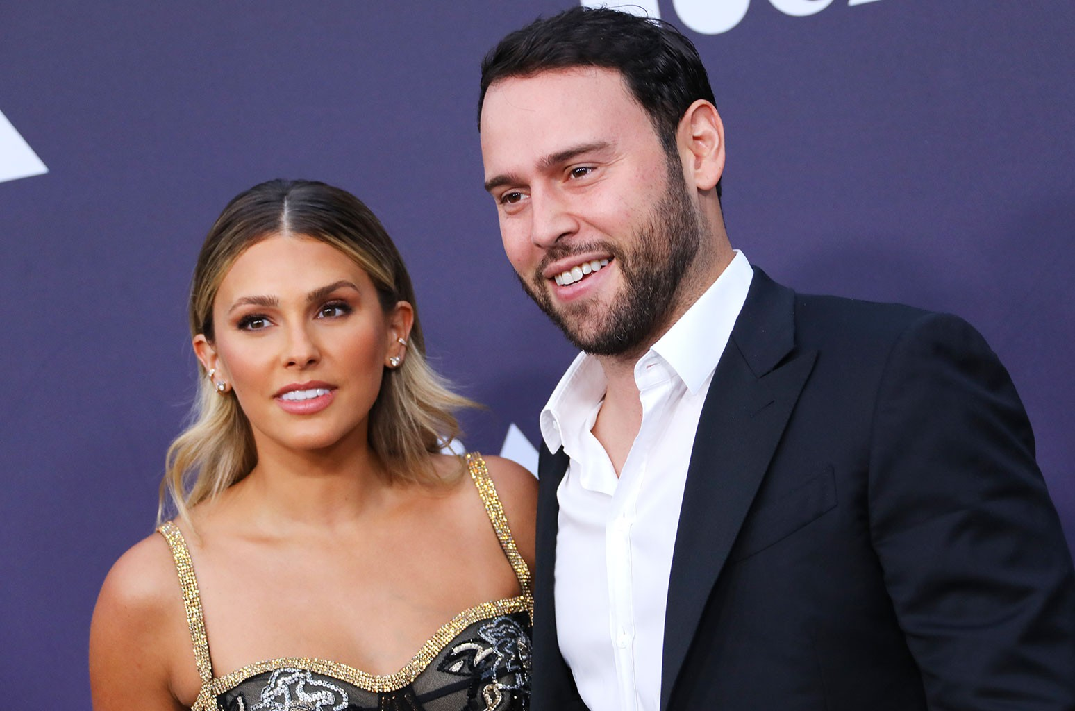 Yael Cohen Braun and Scooter Braun