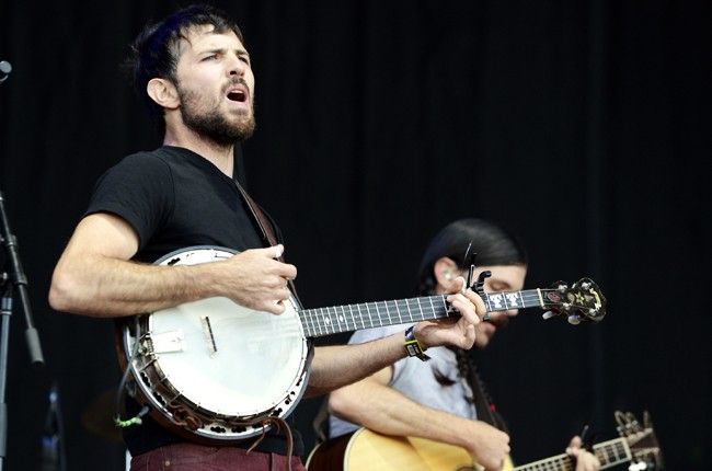 Austin City Limits 2014 -- Scott Avett of the Avett Brothers