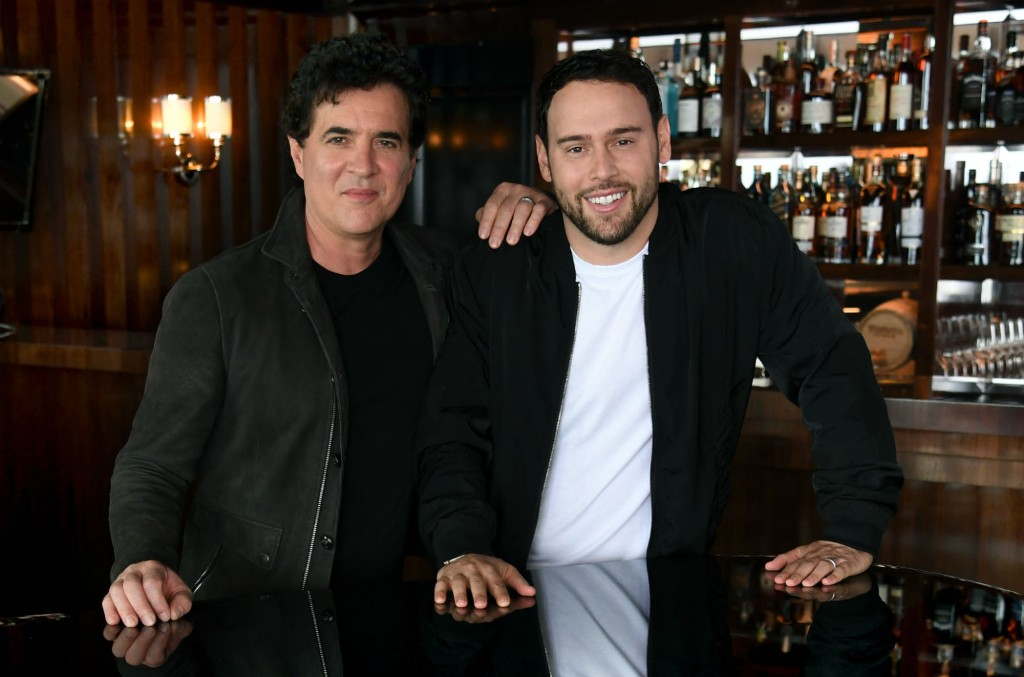 Scott Borchetta and Scooter Braun