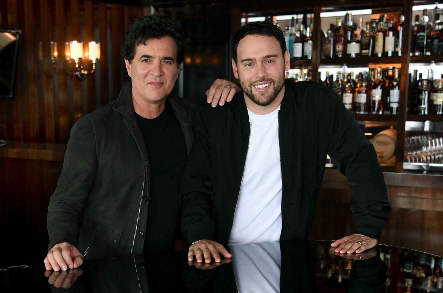 Scott Borchetta and Scooter Braun
