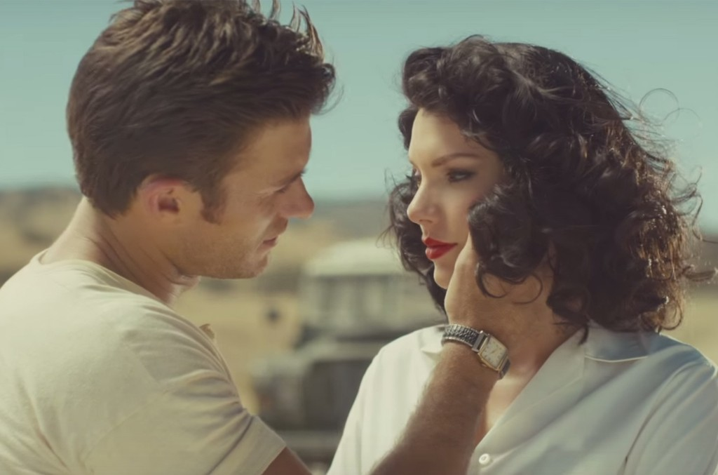 """Scott Eastwood and Taylor Swift in the video for """"Wildest Dreams."""""""