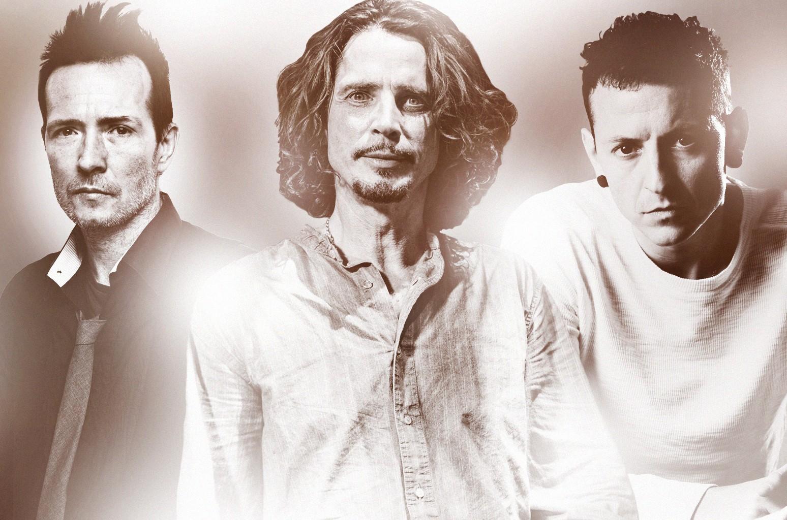 Scott Weiland, Chris Cornell, Chester Bennington