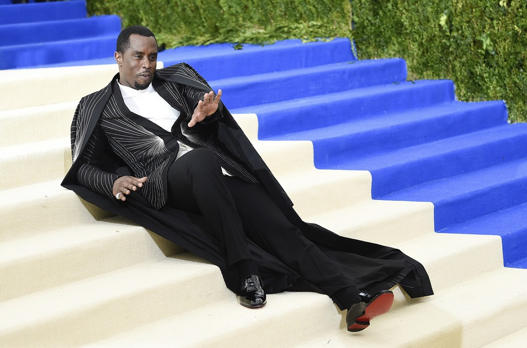 "Sean ""Diddy"" Combs aka Puff Daddy attends the ""Rei Kawakubo/Comme des Garcons: Art Of The In-Between"" Costume Institute Gala at Metropolitan Museum of Art on May 1, 2017 in New York City."