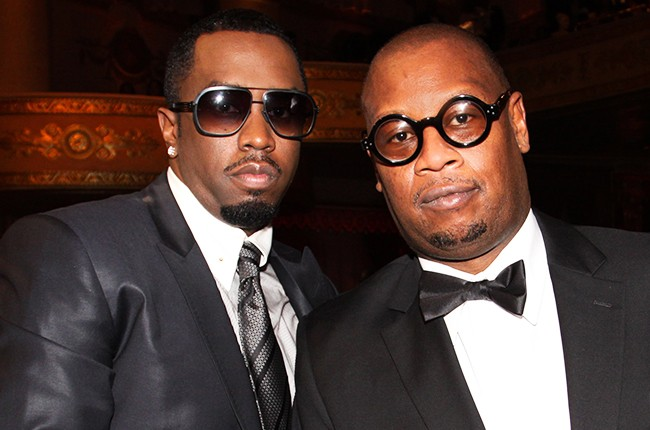 """Sean """"P. Diddy"""" Combs and Andre Harrell"""