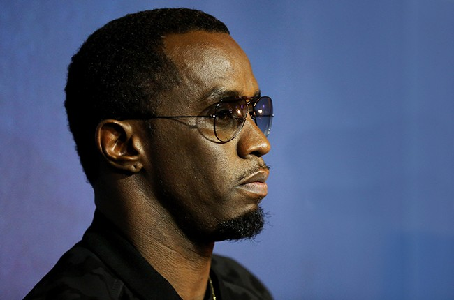 "Sean ""Puff Daddy"" Combs photographed on April 26, 2015 in Las Vegas, Nevada."