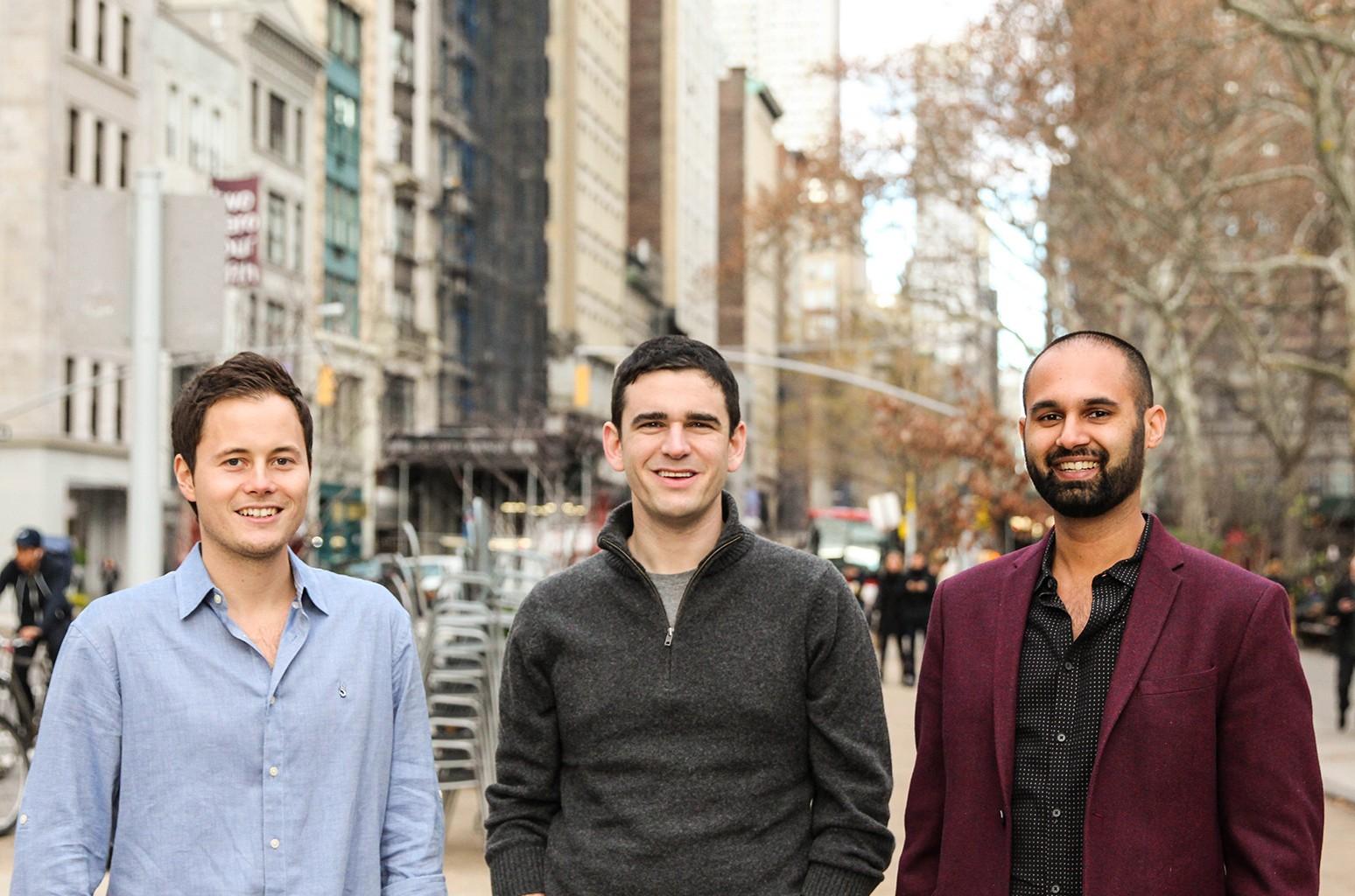 SeatGeek Co-Founders Eric Waller, Jack Groetzinger, Russ D'Souza