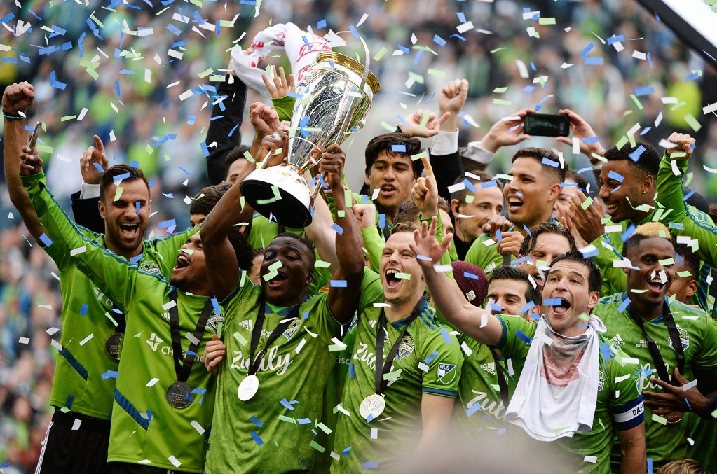 The Sounders, Seattle, Championship, Soccer