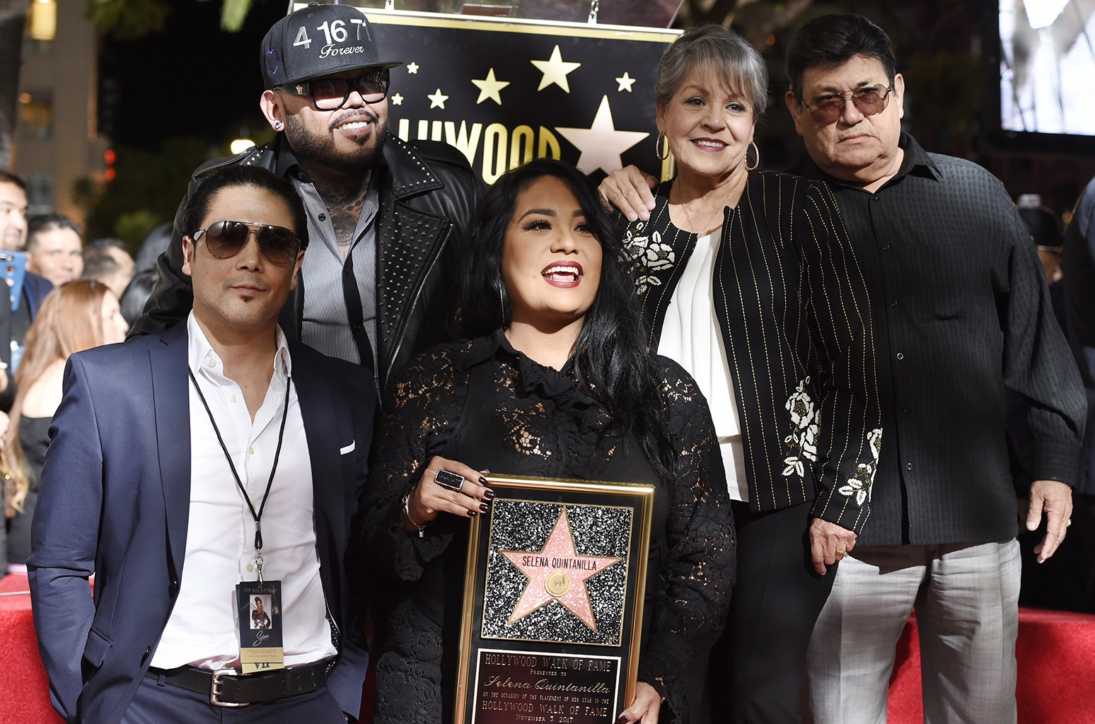Selena Quintanilla Walk of Fame