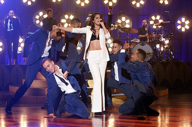 "Selena Gomez performs on ""The Ellen DeGeneres Show"""