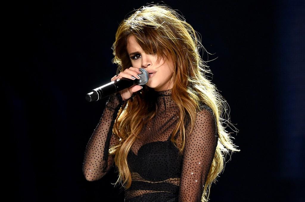 Selena Gomez performs at Staples Center