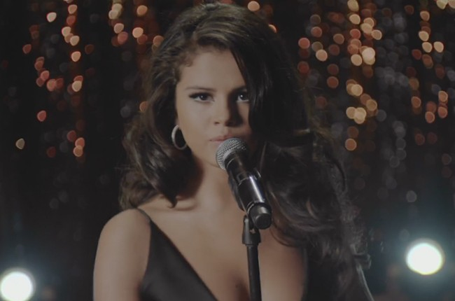 "Selena Gomez in her ""Same Old Love"" video"
