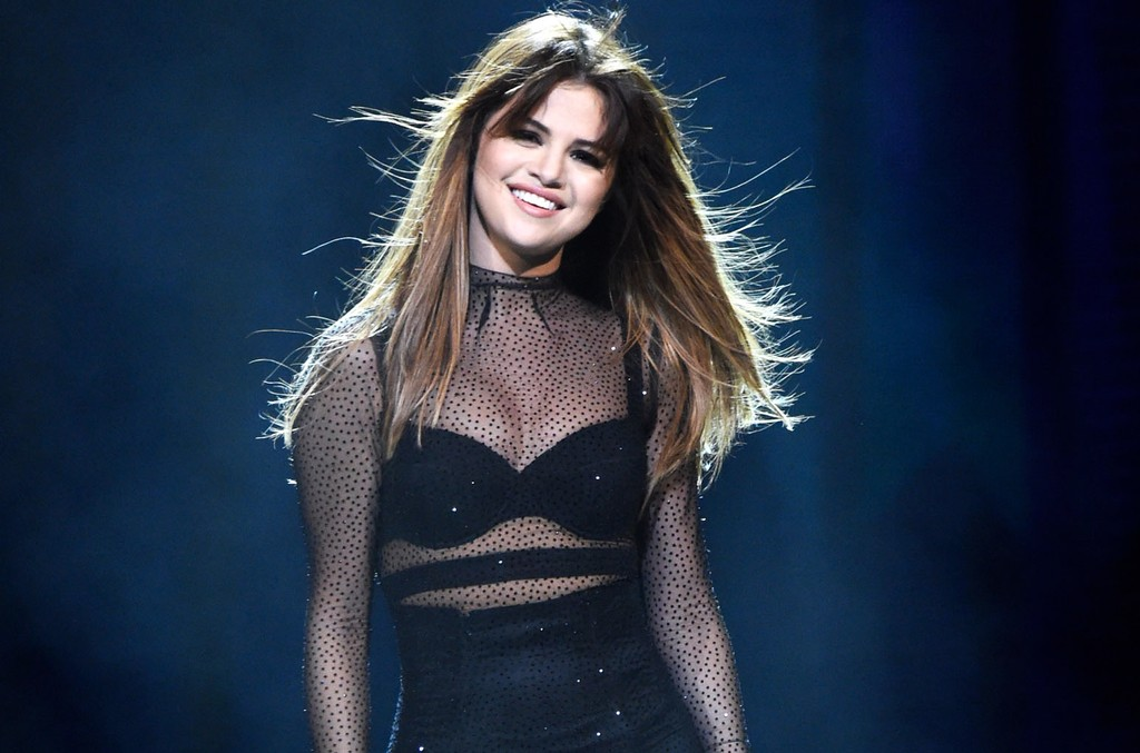 Selena Gomez performs in Louisville