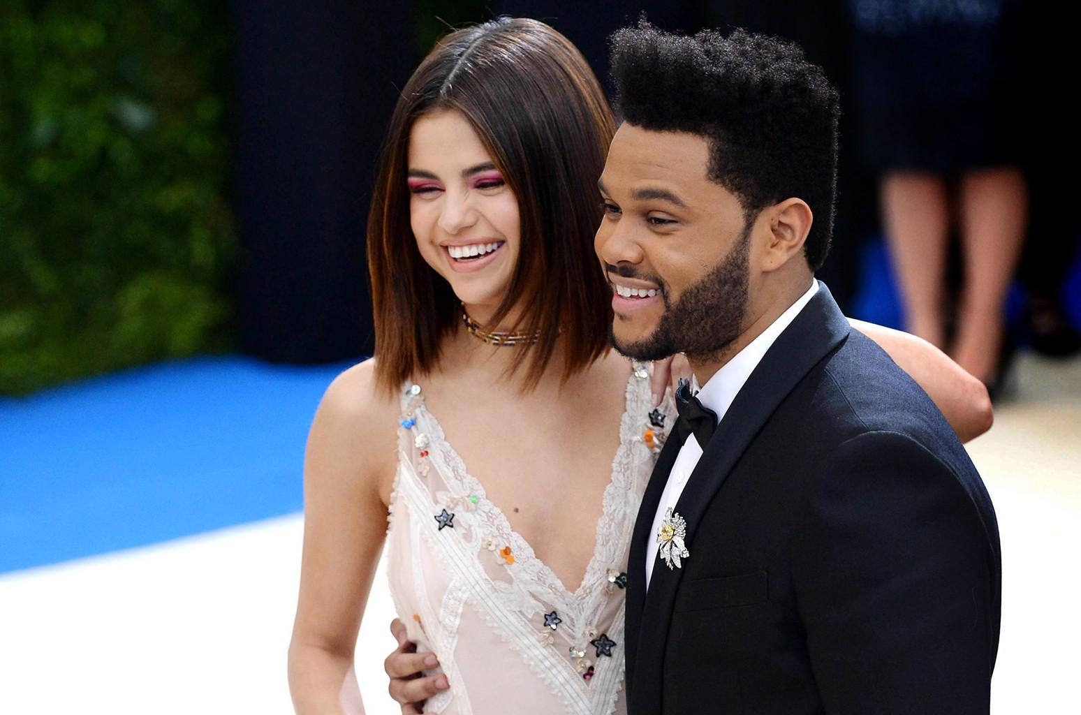 Selena Gomez and The Weeknd, 2017