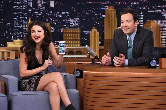 "Selena Gomez on ""The Tonight Show Starring Jimmy Fallon"""