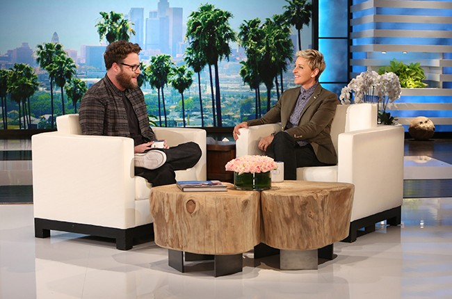 "Seth Rogen on ""The Ellen DeGeneres Show"""