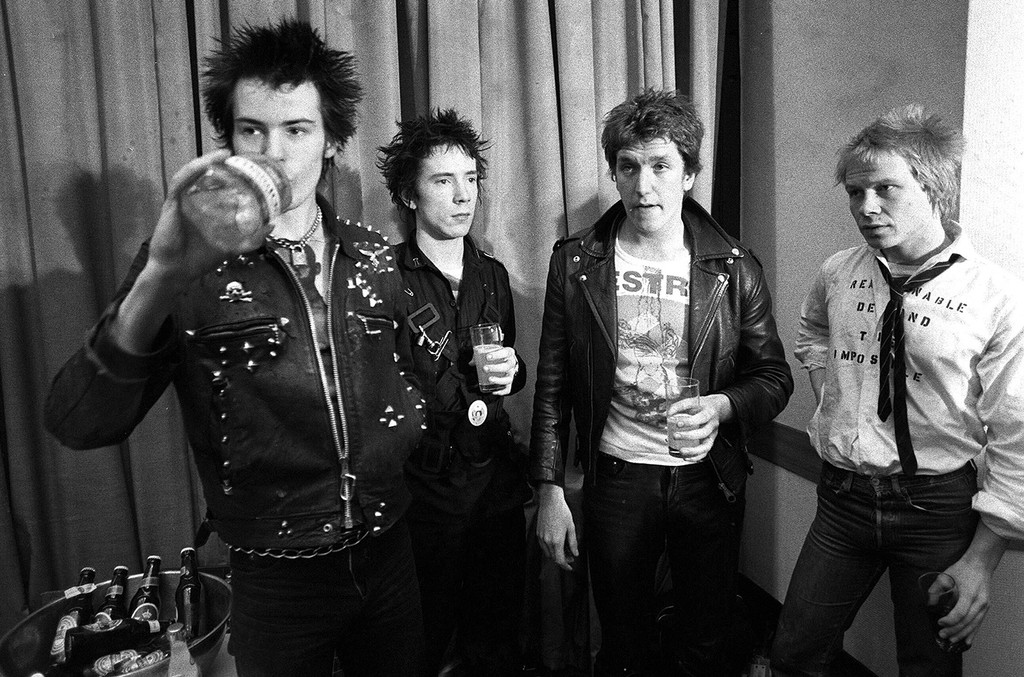 The Sex Pistols in 1977.