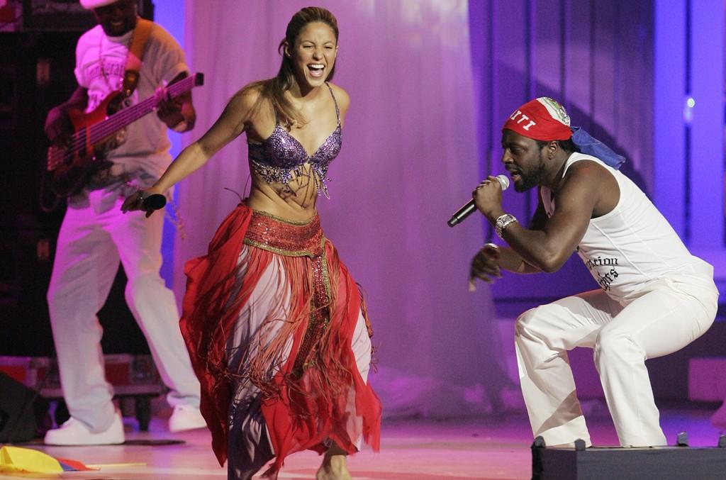 Shakira & Wyclef Jean