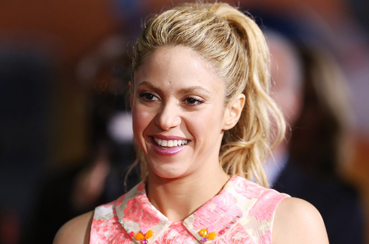 Shakira in 2016
