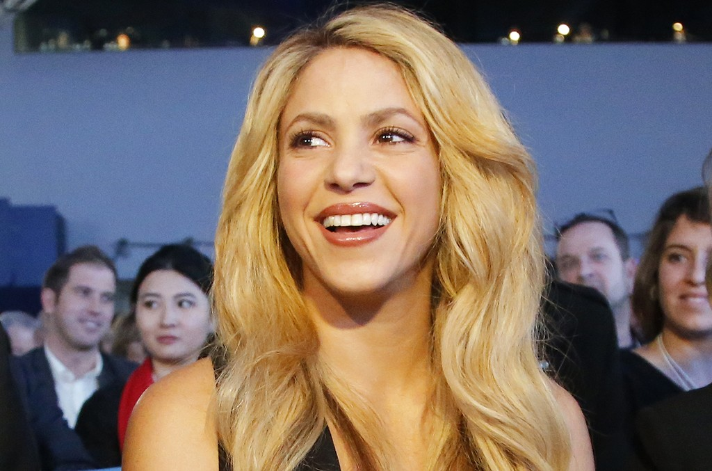Shakira at the World Economic Forum in Davos, Switzerland on Jan. 16, 2017.