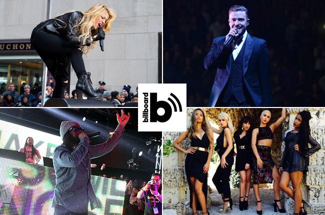 Shakira, Justin Timberlake, Lil Jon, GRL