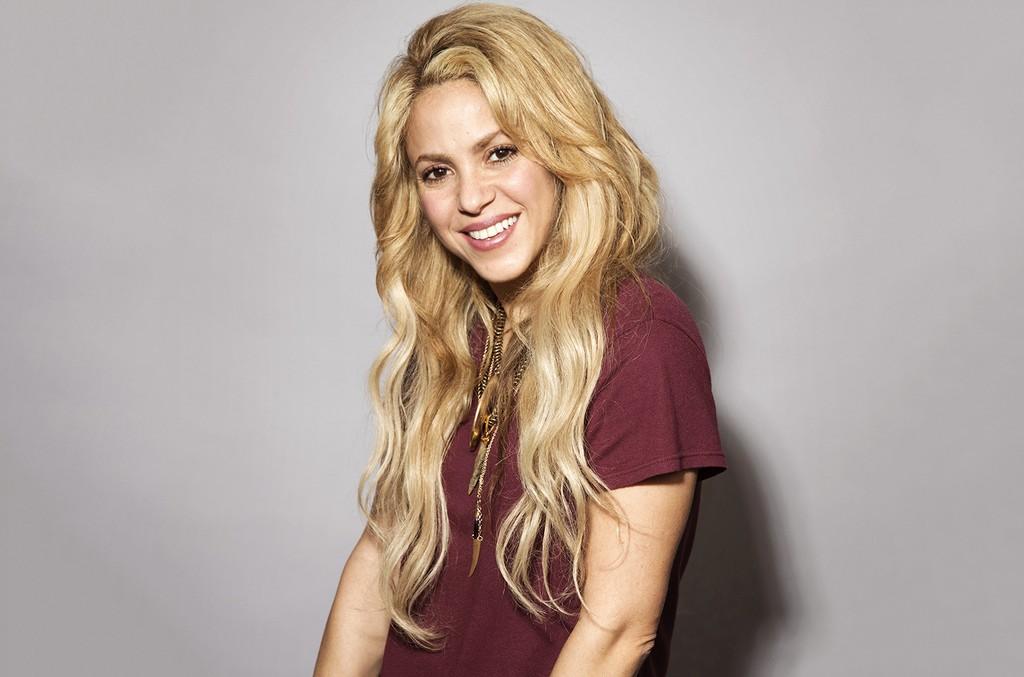 Shakira photographed on May 16, 2017.