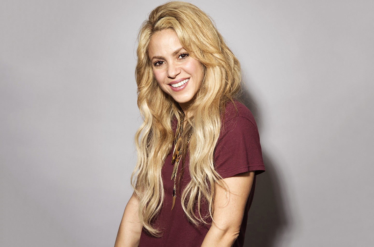 Shakira photographed on May 16, 2017.