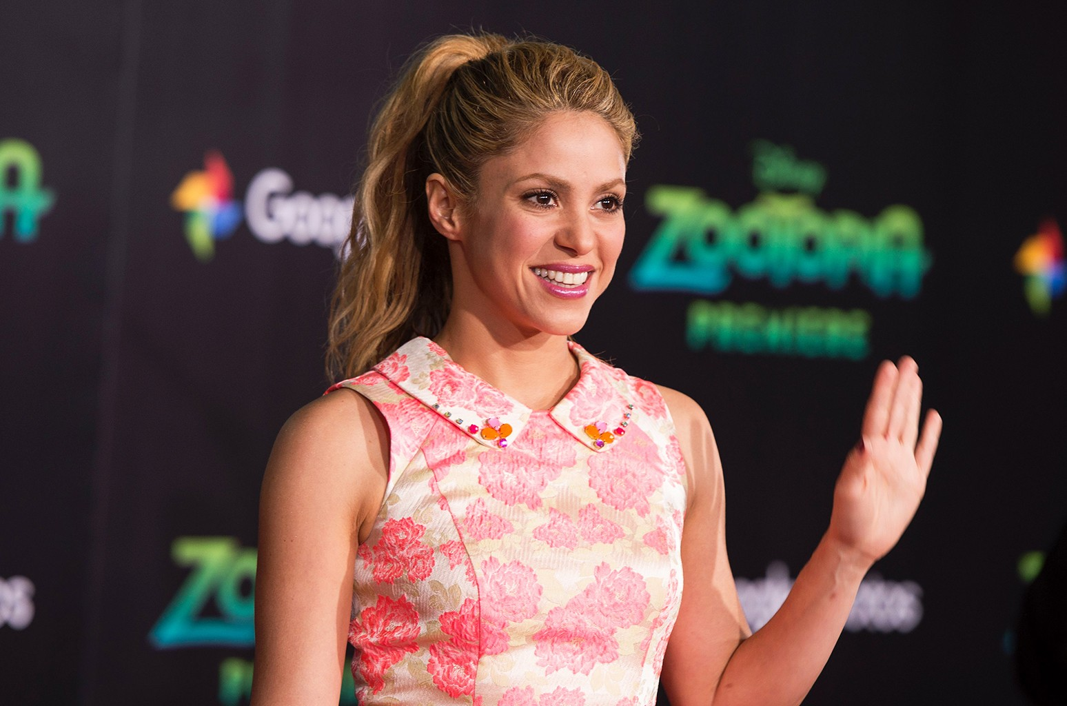 Shakira attends the Disney Premiere of Zootopia on Feb. 17, 2016 in Hollywood, Calif. VALERIE MACON/AFP/Getty Images
