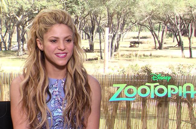 Shakira Zootopia 2016