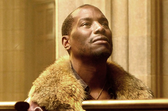 """Tyrese Gibson in """"Shame."""""""