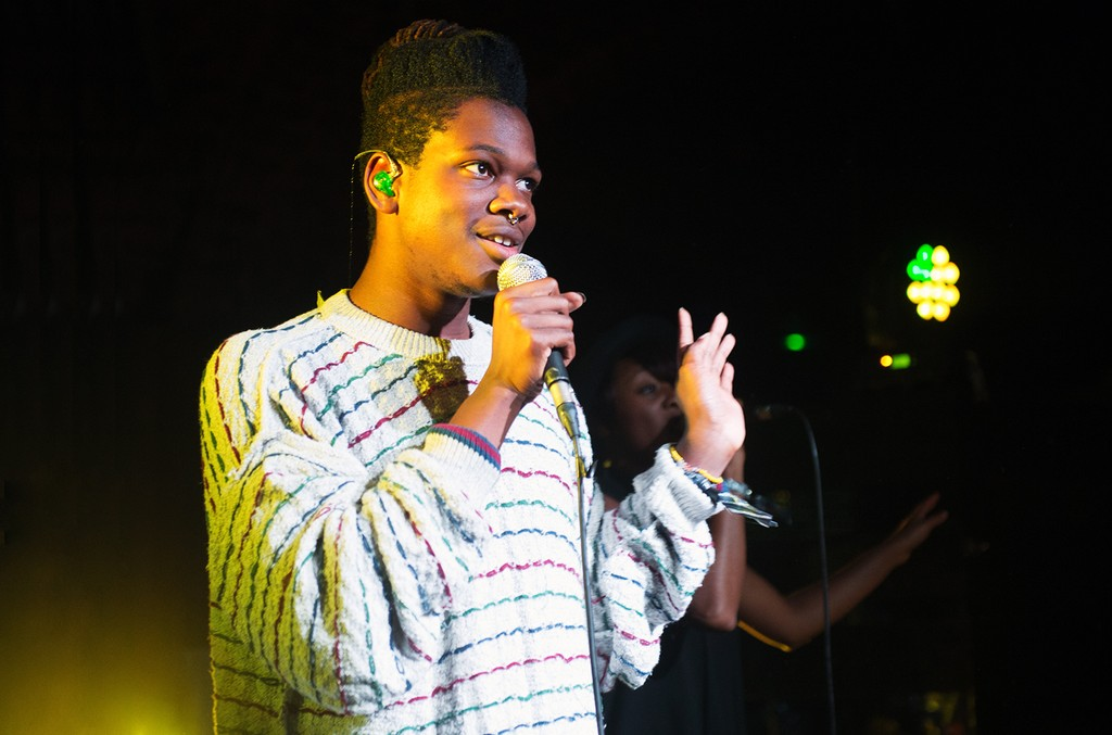 Shamir performs in 2015