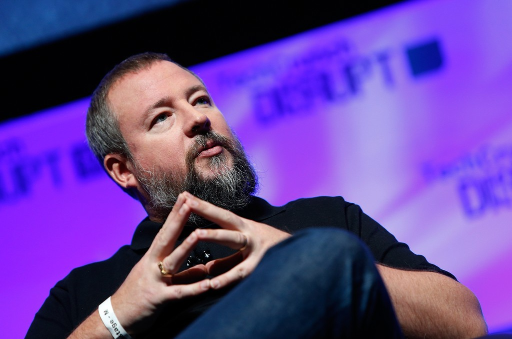 Co-founder and CEO of VICE. Shane Smith speaks at TechCrunch Disrupt in New York City.