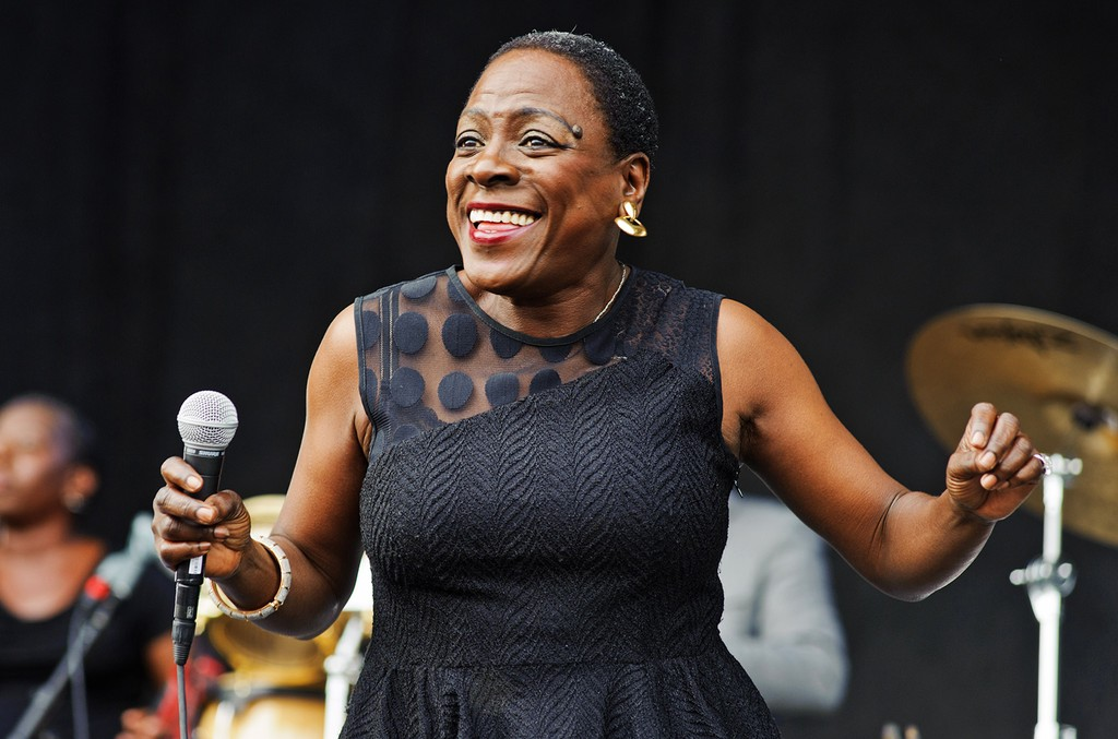Sharon Jones And The Dap Kings perform in 2014