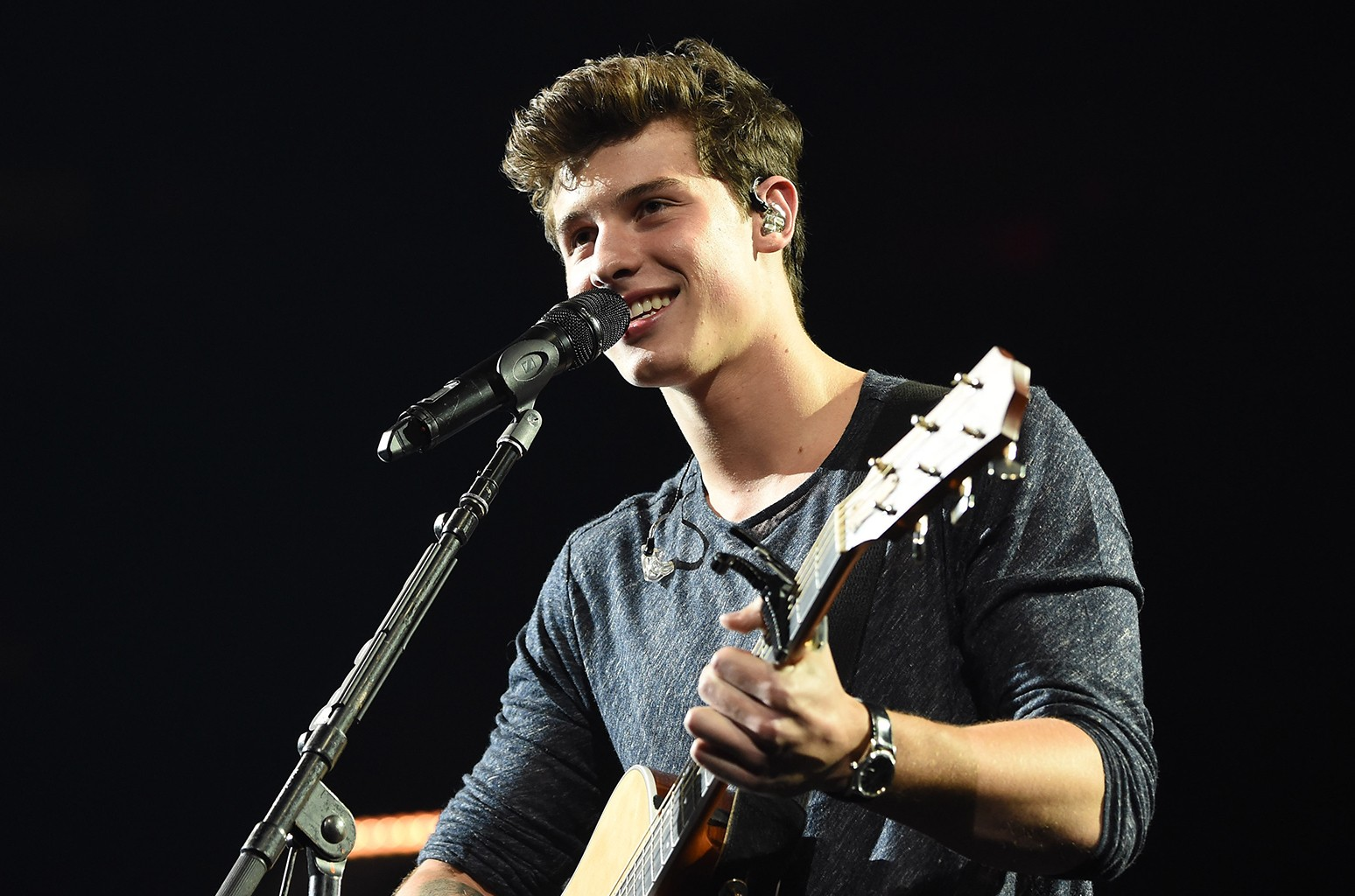 Shawn Mendes performs at Madison Square Garden o