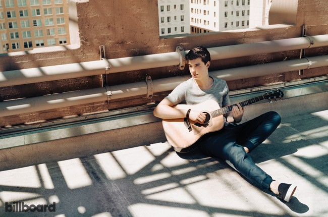 Shawn Mendes photographed on March 27, 2015 at the Hollywood & Vine Lofts in Hollywood.