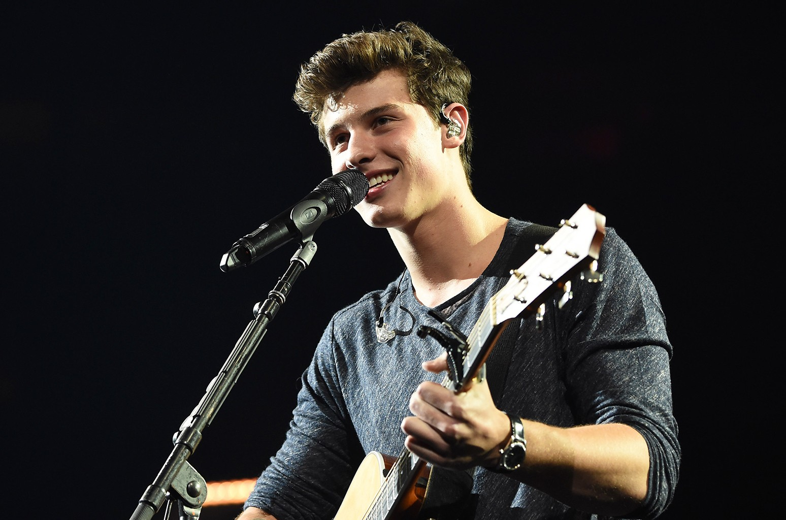 Shawn Mendes performs at Madison Square Garden