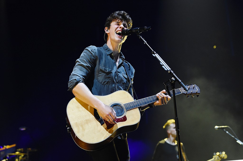 Shawn Mendes performs at Barclays Center