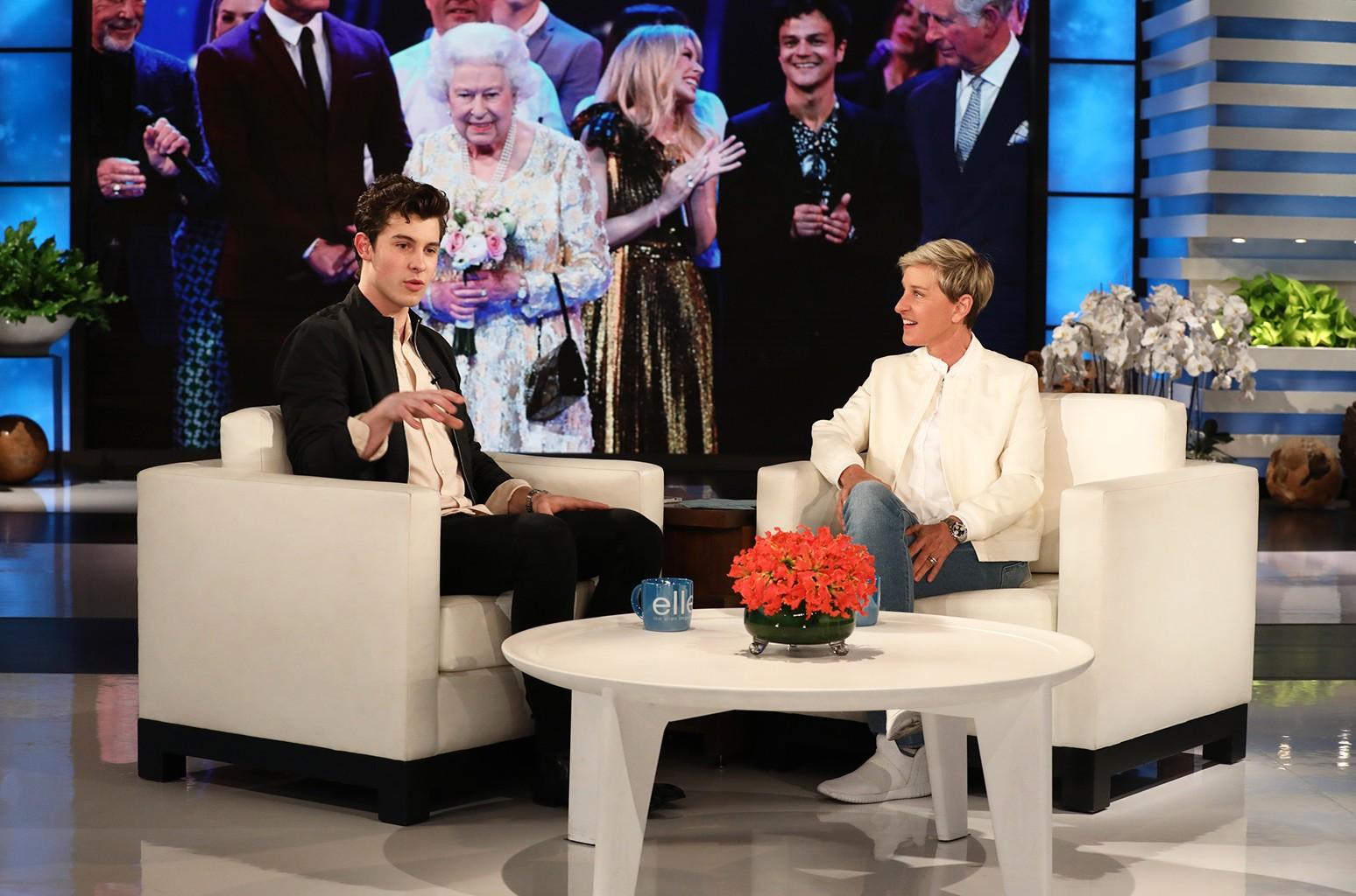 Shawn Mendes Ellen Show