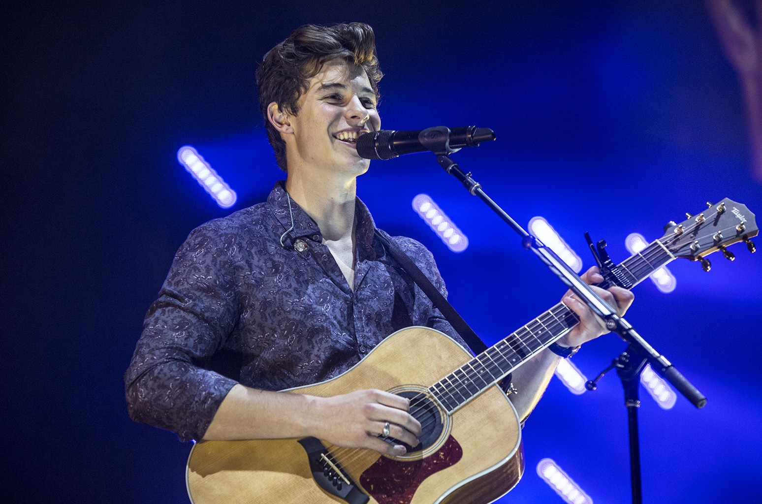 Shawn Mendes performs at Staples Center on July 12, 2017 in Los Angeles.