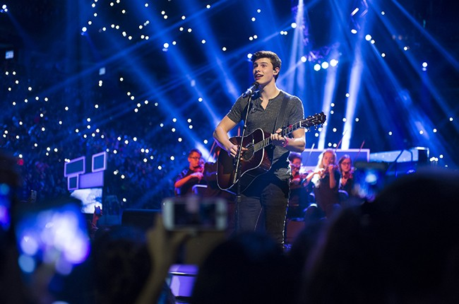 Shawn Mendes performs at We Day
