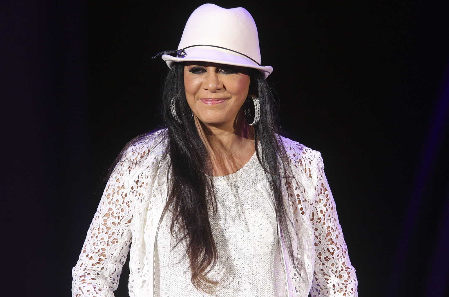 Sheila E. performs on stage at Hollywood Bowl