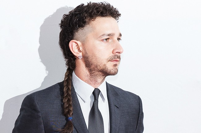 Shia LaBeouf attends a screening of  'LoveTrue' during 2015 Tribeca Film Festival at SVA Theatre 2 on April 16, 2015 in New York City.