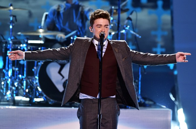 Rixton perform onstage during FOX's 2014 Teen Choice Awards