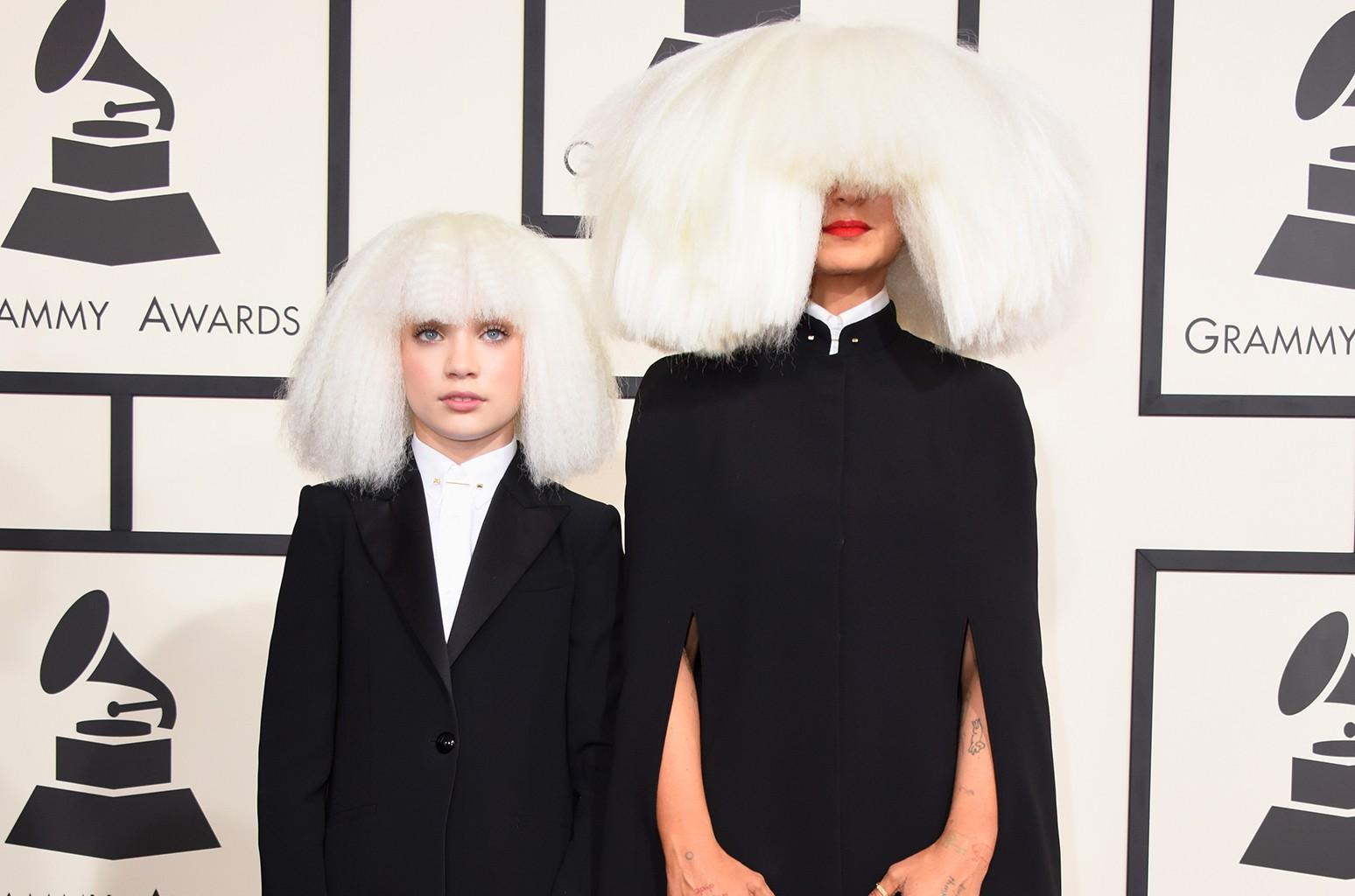 Sia Gifts Maddie Ziegler With a Shiny ...