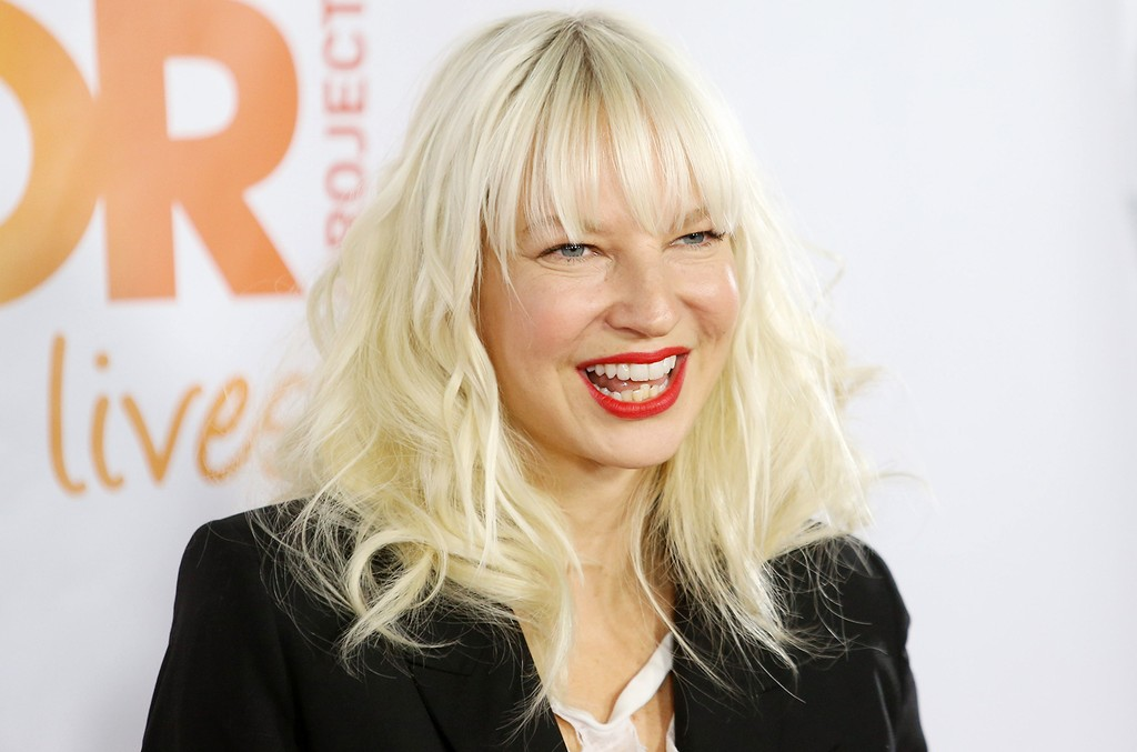Sia arrives at the 15th Annual Trevor Project Benefit held at Hollywood Palladium on Dec. 8, 2013 in Hollywood, Calif.